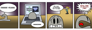 The Dumb Rock: Rock Time by Emjaidi