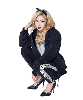 [RENDER] Hyuna #2  (4minute) by KwonLee