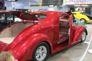 1937 Ford Street Coupe. by Maeve09