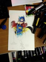 new batgirl by freetoons