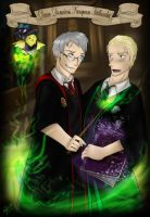 Put a spell on you - Hetalia/HP entry for GAO cont by patty110692