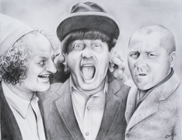 The Three Stooges by viesify