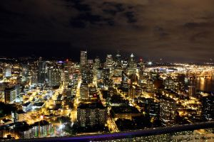 Seattle at Night WS by manleyaudio