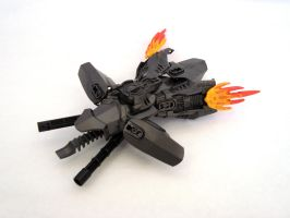 Gunmetal Gunship by Ajtnz