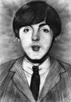Paul McCartney by kurosakii