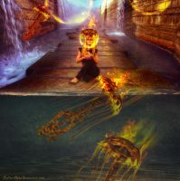 Fire Vs Water by Lolita-Artz