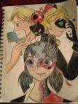 Miraculous Masks by AngelicKishinHunter