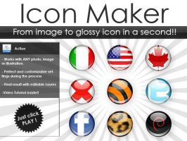 Glossy 3D Icon Generator by Giallo86