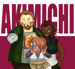 Akimichi Family Picture by MintAnnComics