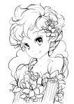 My Little Flower - lineart by Tsvetka