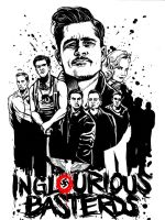 Inglourious basterds by FrancoisSmit
