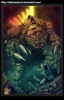 Star Wars   -   Rancor by diabolumberto