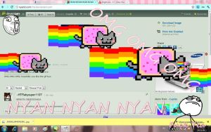 OMG OMG OMG NYAN CAT by Cupida