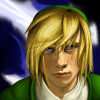 Portrait of Link by Nicolargh