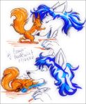 Me and Chiv again by Enaya-TheWhiteWolfen