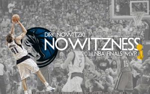 Dirk Nowitzki Finals MVP Wall by Angelmaker666