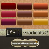 Photoshop Gradients - Earth 2 by starsunflowerstudio