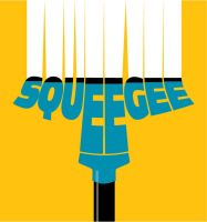 Typography - Squeegee by joeartist92
