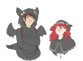 Hoodie Party by KittyNoMore