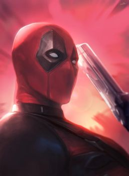 Deadpool by lonwaA