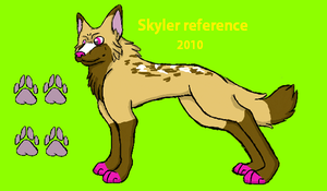 Skyler 2010 ref sheet by Wickerish