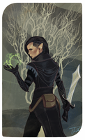 DAI Inquisitor tarot card by jadenwithwings