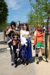 Final Fantasy X Cosplay - Yuna, Rikku and Lulu by XHarmonySpiritX