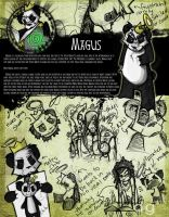 Magus: Character Design by DG-ART85