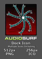 AudioSurf Dock Icon by lapinlunaire