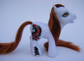 OOAK My Little Pony Eclipse by eponyart