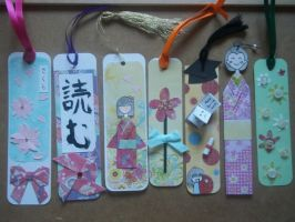 Week of... bookmarks by Ilyere