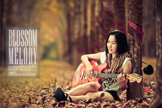 blossom melody i by f3ndee