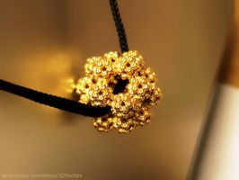 Fractal Dodecahedron Pendant by bib993