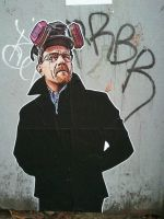 Mr White Breaking Bad by krazyminor2011