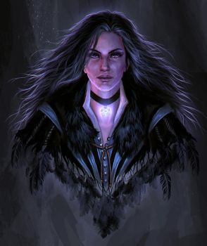 Yennefer of Vengerberg by cyberaeon