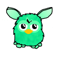 Furby 2012: Green by shyGriff