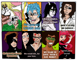 Bleach Valentine's Cards by RomaniaBlack
