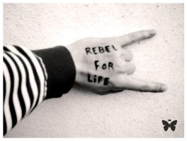 Rebel for life by illusiondevivre