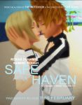 Roxas x Namine - Safe Haven (Movie Poster) by rev-rizeup