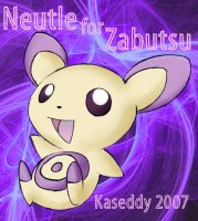 PoKeMoN:Neutle 4 Zabutsu by kaseddy