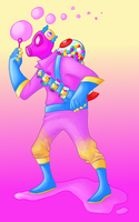 Trickster Pyro by HilariousBread