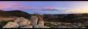 Farther lands - panorama by FlorentCourty