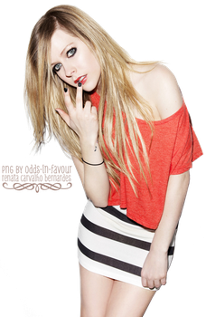 PNG 28 - Avril Lavigne by odds-in-favour