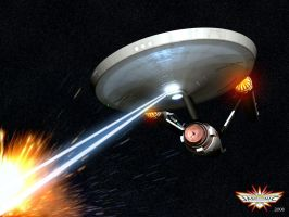 Firing Phasers by Cybertosh
