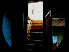 creepy stairs - 2 by Kamelot666