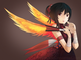 Phoenix Flower Jutsu by missxdelaney