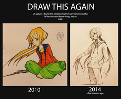 Draw this again Meme by WaxBottle
