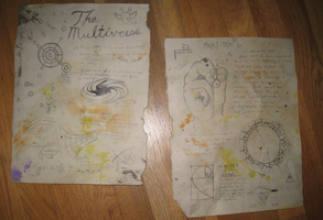 Multiverse pages from Journal #1 by MF99K