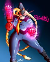 Decapre - ultra street fighter 4 by 121gigawatts