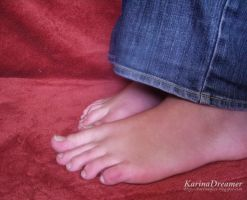 My Feet4 by KarinaDreamer
